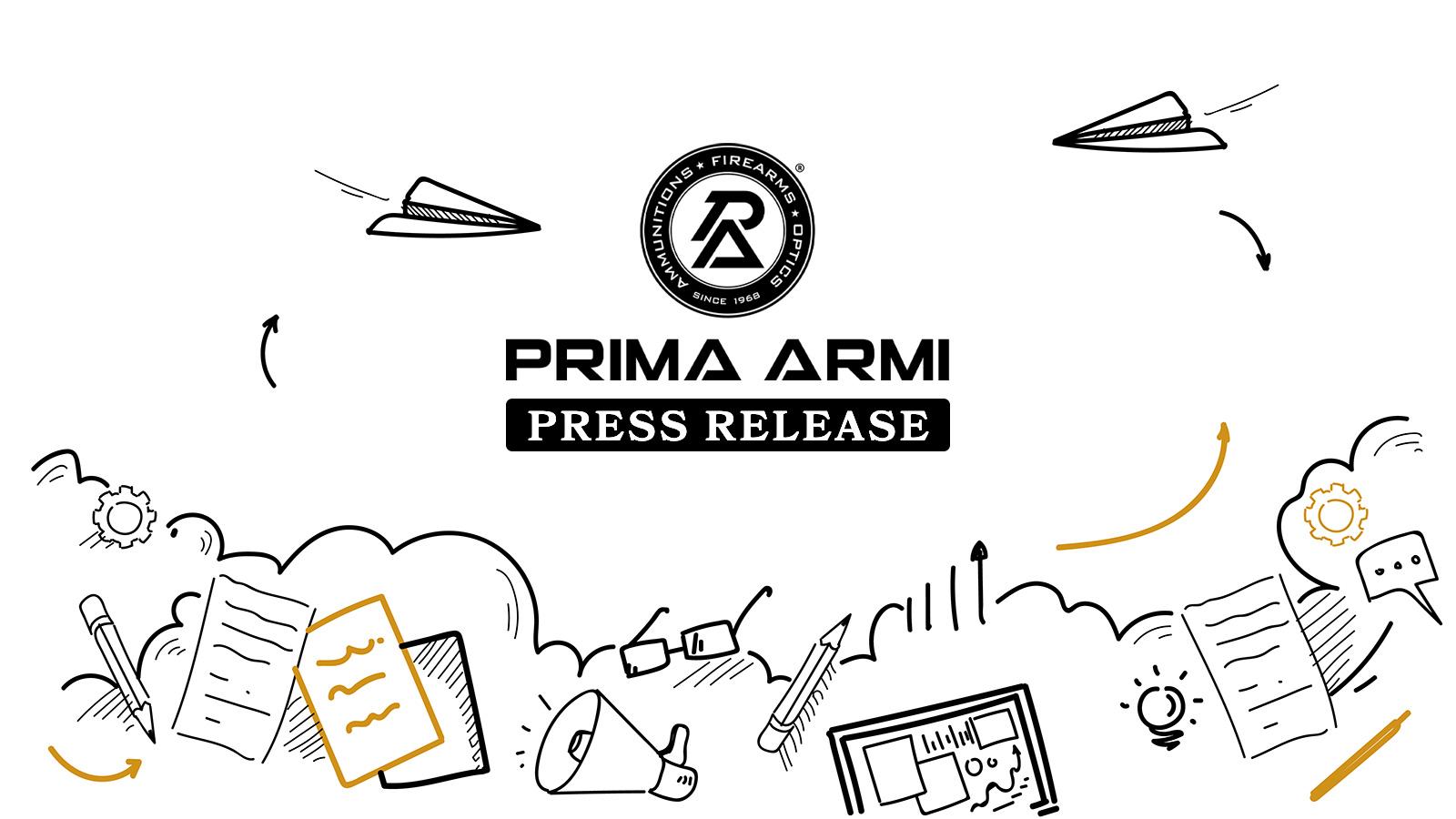 Press Release: Prima Armi è associata ad ANPAM