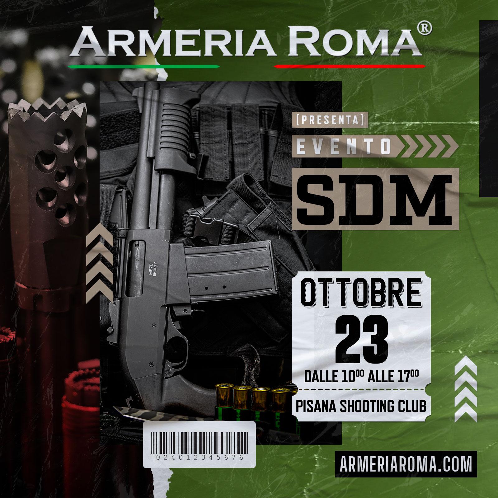 Armeria-Roma-Evento SDM ottobre 2021