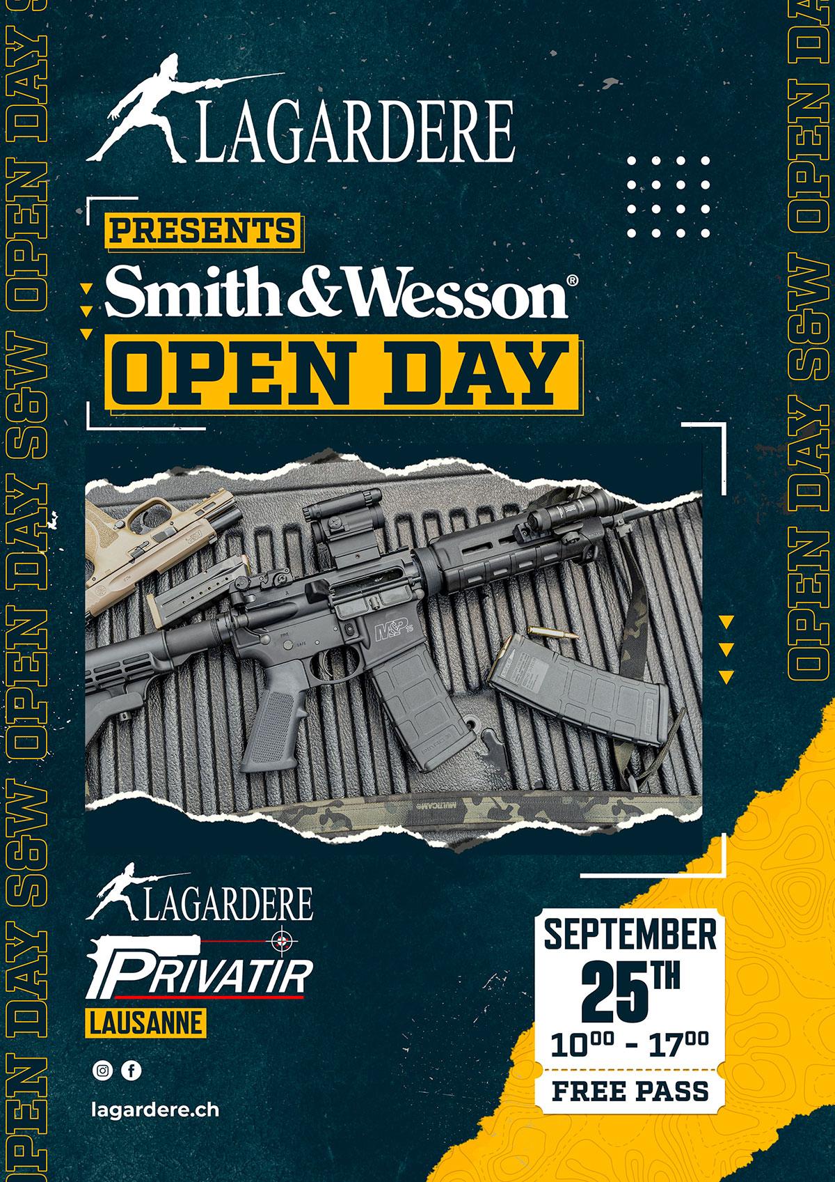 Lagardere S&W Open Day
